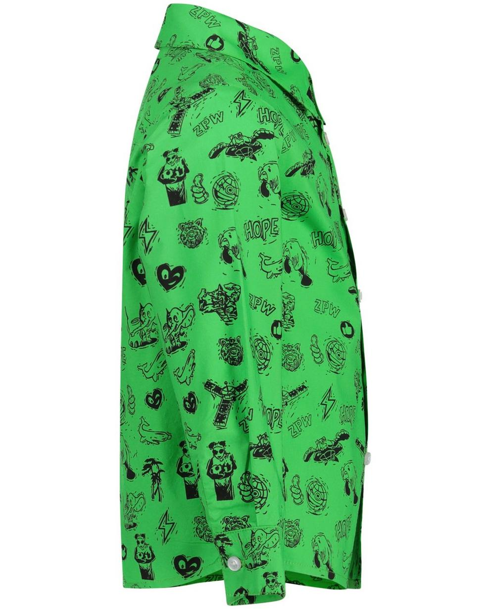 Chemises - bright green - Chemise verte à imprimé